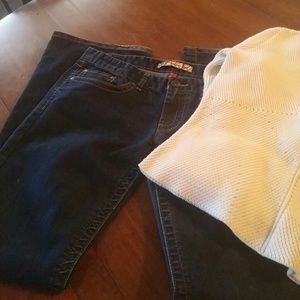 BKE Sabrina bootcut jeans stretch
